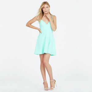 NEW - JustFab Double Strap Spaghetti Dress